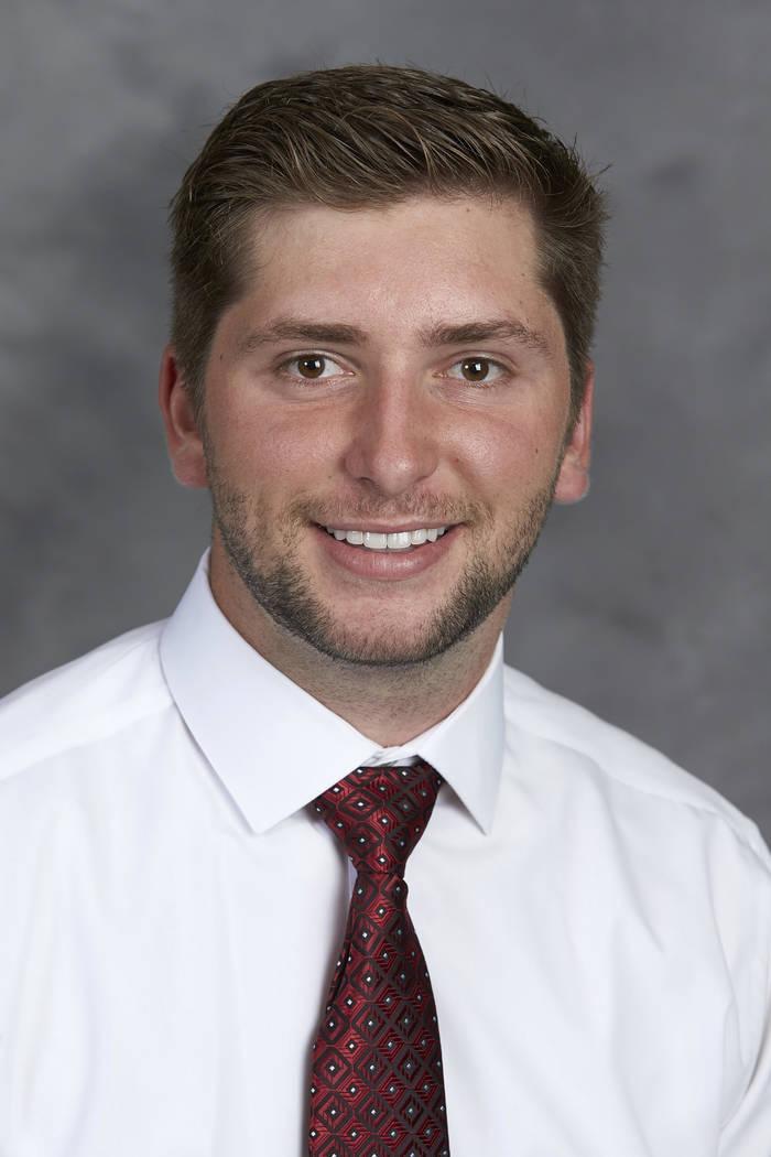 Cory Colombini, UNLV School of Medicine Class of 2021. (R. Marsh Starks / UNLV Creative Services)