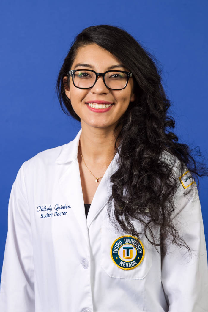 Nathaly Quinteros, Touro University Nevada College of Medicine.