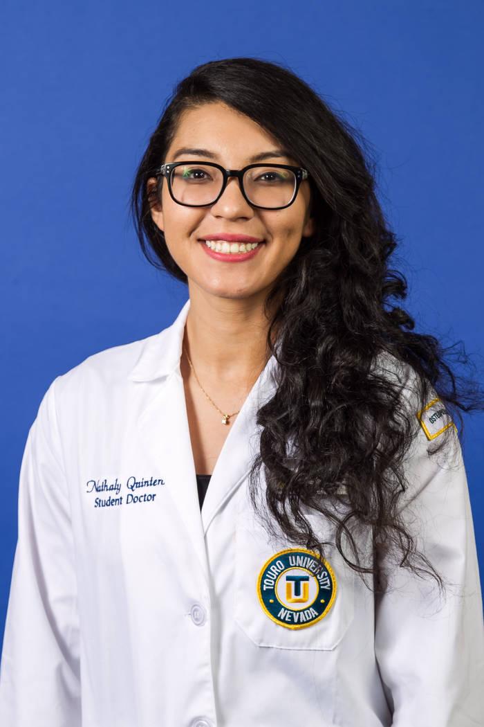 Nathaly Quinteros, Touro University Nevada College of Medicine.