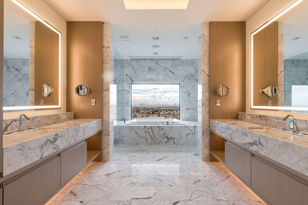 The master bath. (Hoogland Architecture)