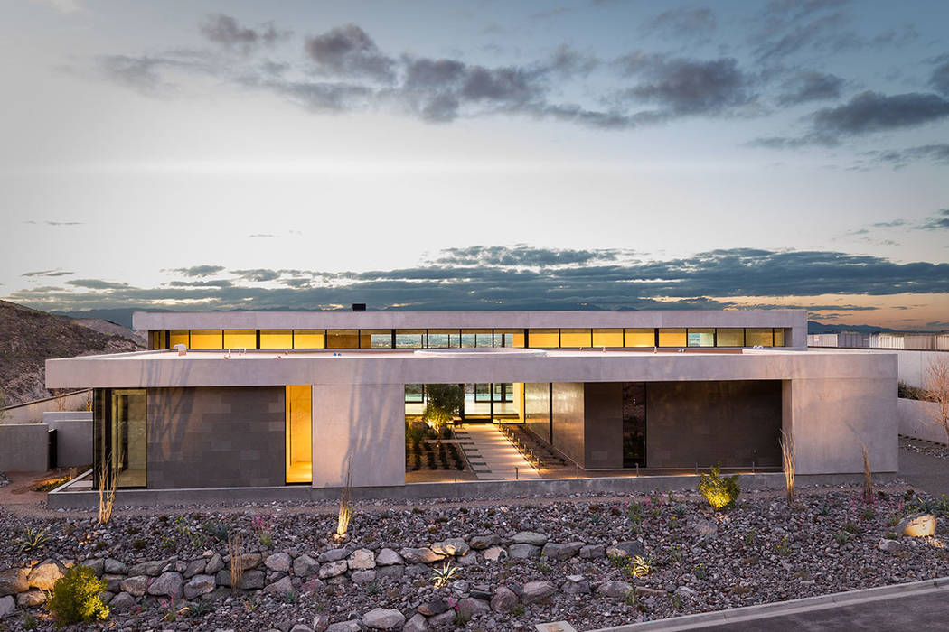 Las Vegas architect C.J. Hoogland designed the Cloud Chaser as one of their seven Inspirational Homes in Ascaya. (Hoogland Architecture)