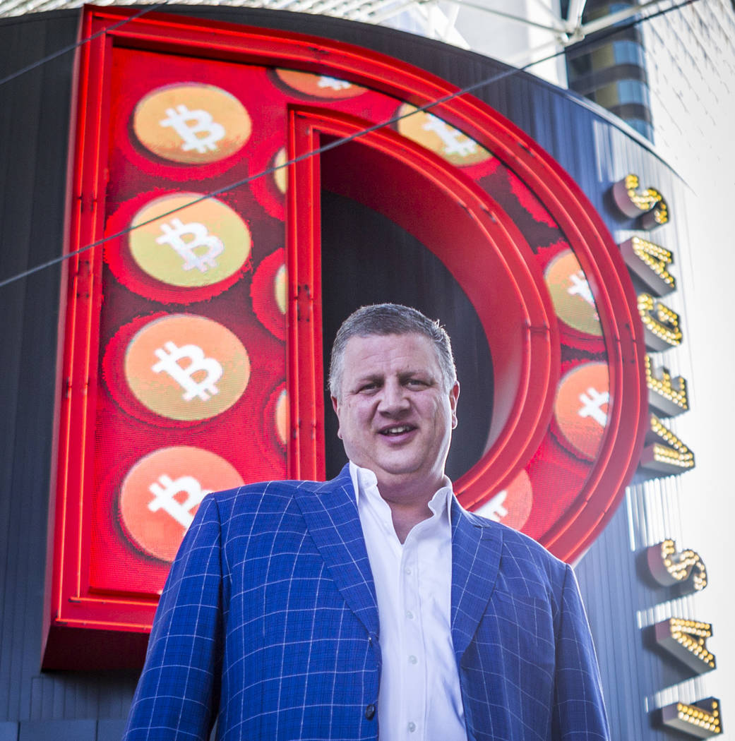 Derek Stevens, CEO and owner of the D Las Vegas