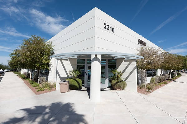 A four-building, multi-tenant office complex on nearly 14 acres in Henderson has sold to Newport Beach, California-based Buchanan Street. (Courtesy)