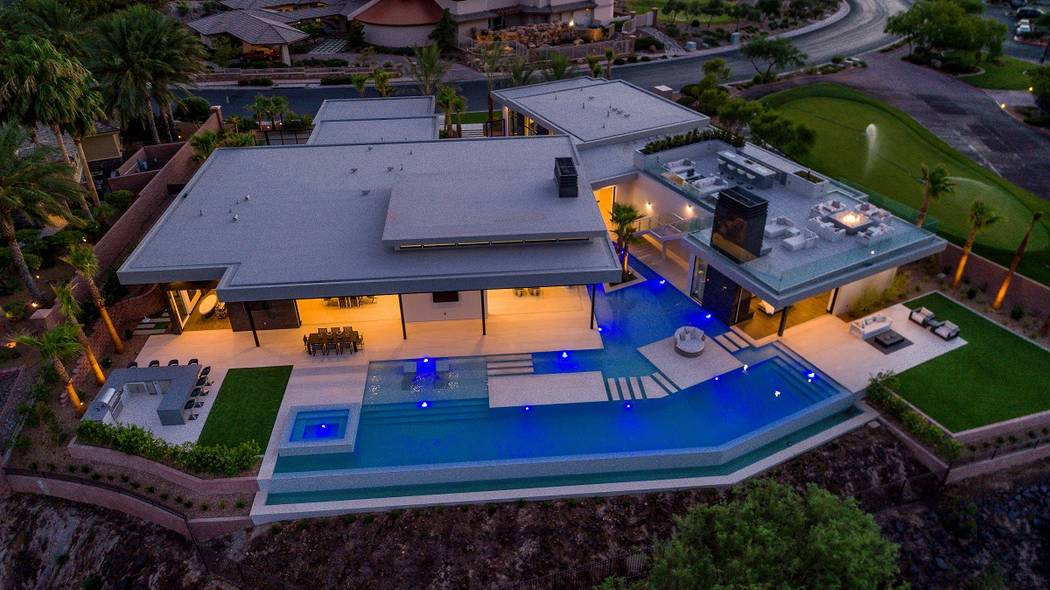 Serenity in MacDonald Highlands by Sun West Custom Homes won Best Custom Home this year at the June 23 Silver Nugget Awards gala. (Sun West Custom Homes)