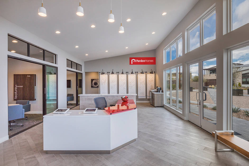 Pardee Home's Axis community in Henderson. (Pardee Homes)