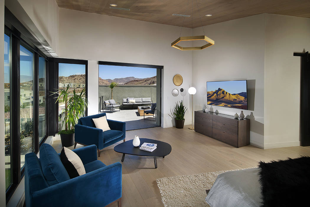 The Wall model in Pardee Home's Axis community in Henderson. (Pardee Homes)