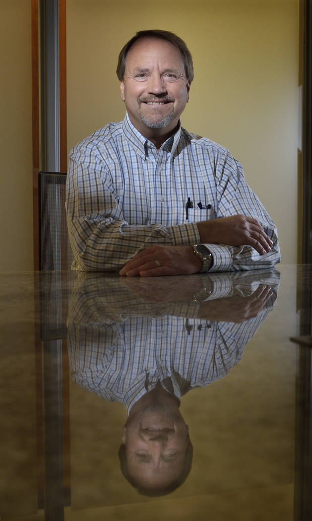 Rocky Cochran has retired as director of operations at Pardee Homes and relocated to Northern Idaho. (Bill Hughes Las Vegas Business Press)