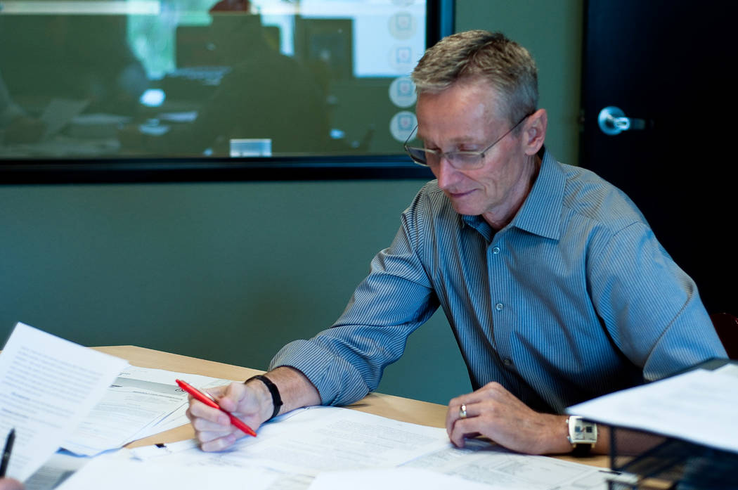 Boyd Erickson, president and owner of FEA Consulting Engineers