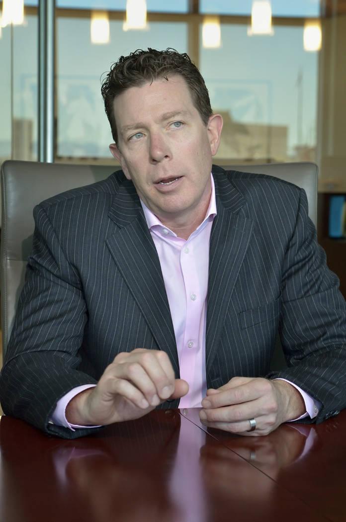 Attorney Scott Wiegand, gaming attorney Brownstein Hyatt Farber Schreck. (Bill Hughes Las Vegas Business Press)