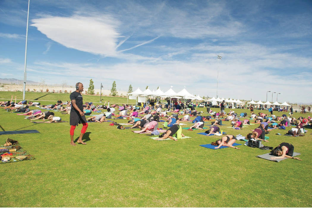 Skye Canyon, a master-planned community in the northwest valley, holds several year-round activities. (Skye Canyon)