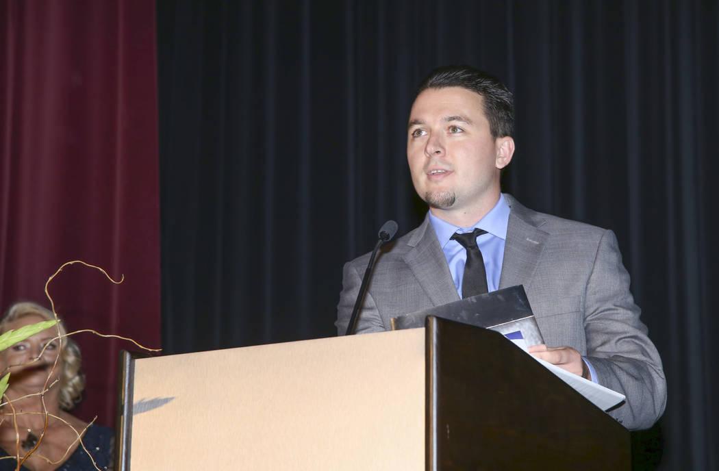 Max Hughes, Southwest Gas. (Jim Laurie Las Vegas Business Press)