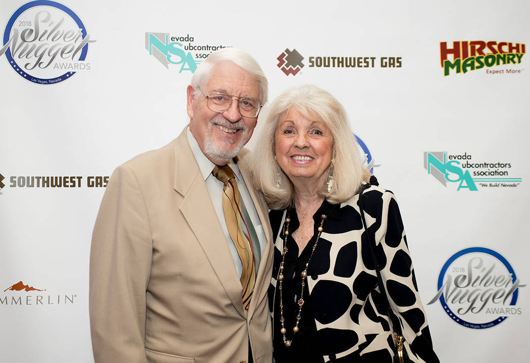 David Fordham and Cindy Coletti. (Tonya Harvey Las Vegas Business Press)
