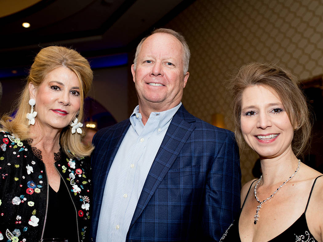Melissa, FFW Public Relations, and Clark Warren and Erika Geiser, Christopher Homes. (Tonya Harvey Las Vegas Business Press)