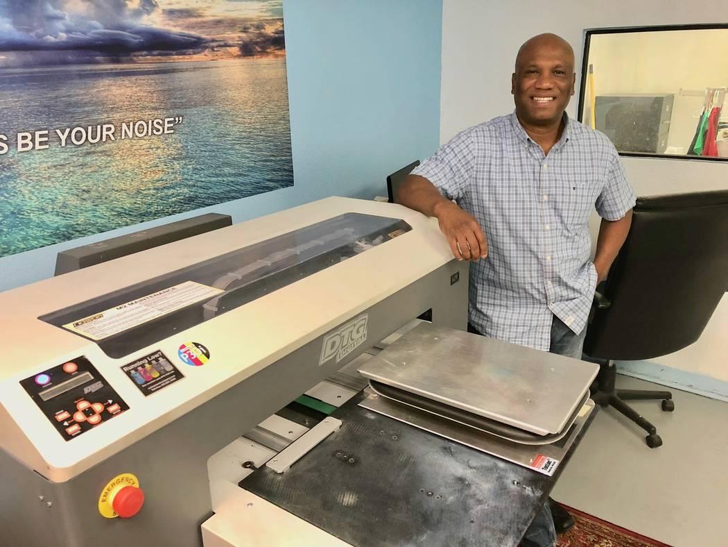 John Pinnington, AA Printing