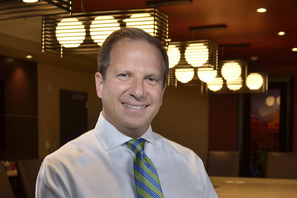 Todd Sklamberg, CEO of Sunrise Hospital and Medical Center. (Bill Hughes Las Vegas Business Press)