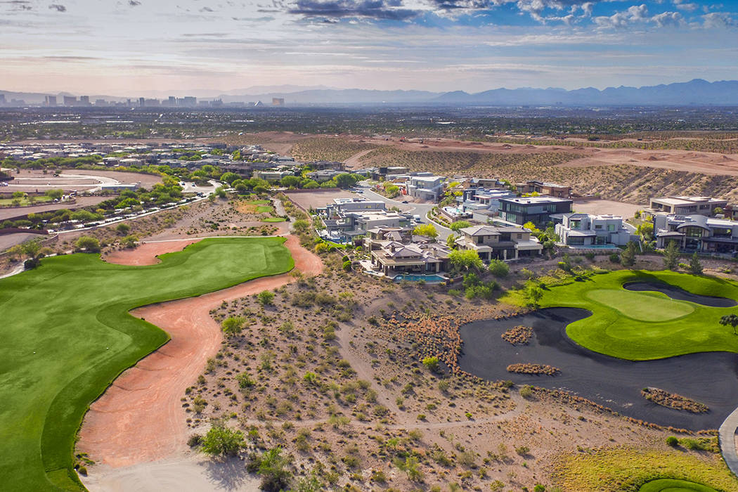 Summerlin earned a No. 3 spot in the list of the country's best-selling master-planned communities for the first half of this year. (Summerlin)