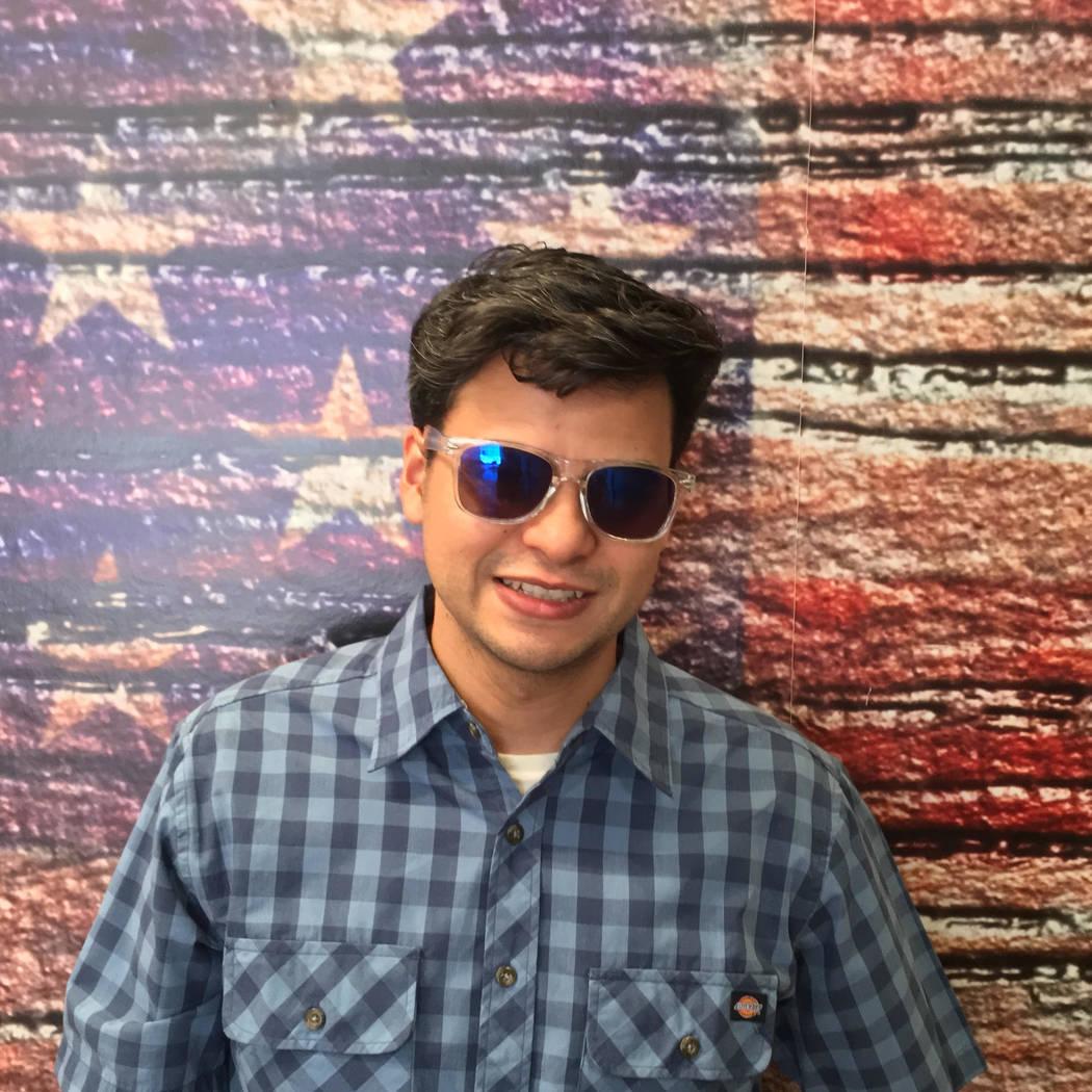 Gustavo Covarrubias Garcia, communications manager, Blind Center of Nevada