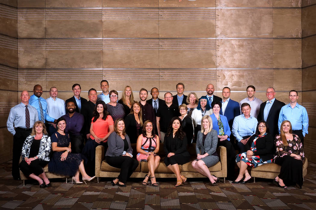The Henderson Chamber of Commerce Foundation graduated the Leadership Henderson class of 2018, which featured 33 local community and business leaders.