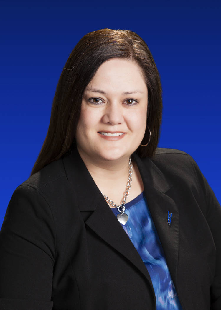 Gabriela Wyett, relationship manager, Summerlin branch, City National Bank