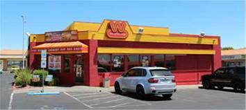 Marcus & Millichap announced the sale of a 1,869-square foot Wienerschnitzel, situated on 0.52-acres. The property sold for $975,000. (Marcus & Millichap)