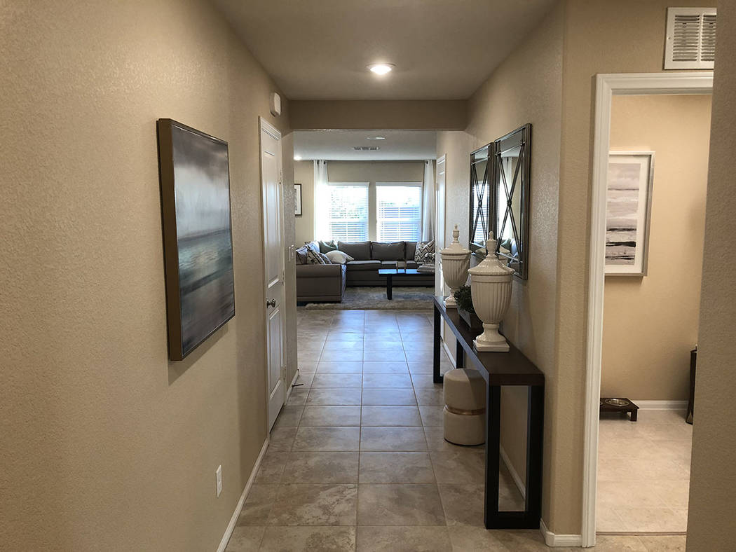 Cox Communications and KB Home showcase new technology to potential buyers in the Desert Mesa neighborhood of North Las Vegas. (Cox Communications)