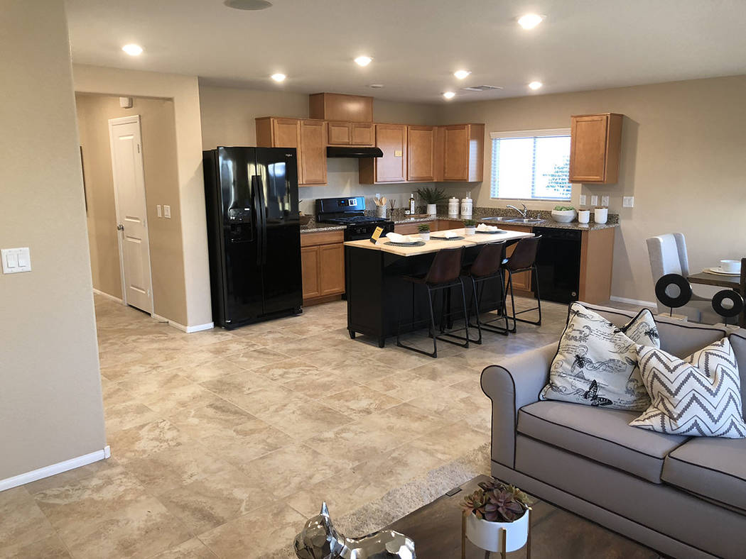 """Cox Communications and KB Home have partnered to showcase technology that can help people """"age in place"""" in a smart home in North Las Vegas. (Cox Communications)"""