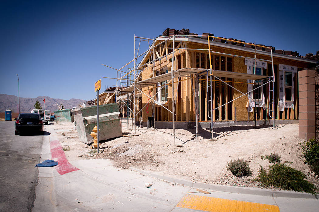 Pardee has two homes left for the sale and 88 under construction that should be completed by the end of the year. (Tonya Harvey RJNewHomes.Vegas)