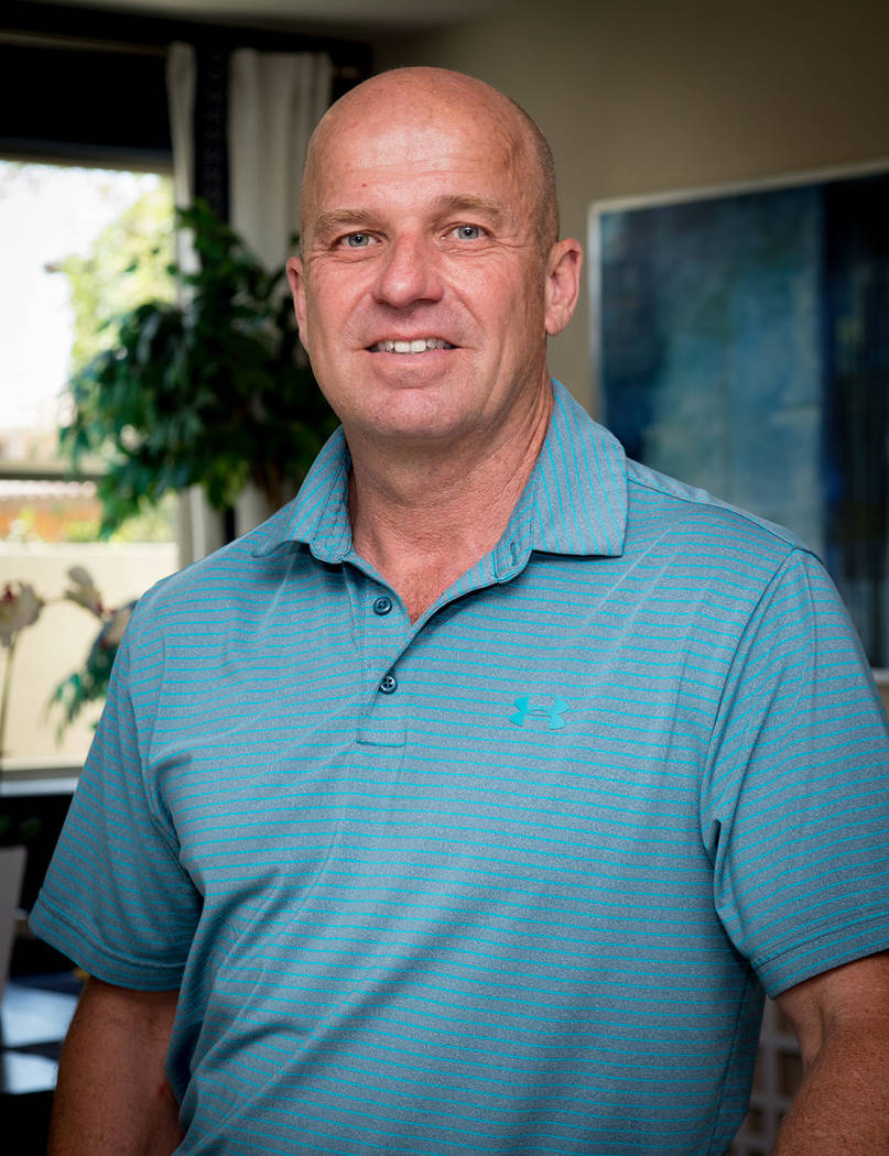 Klif Andrews, Pardee's division president for Las Vegas. (Tonya Harvey RJNewHomes.Vegas)