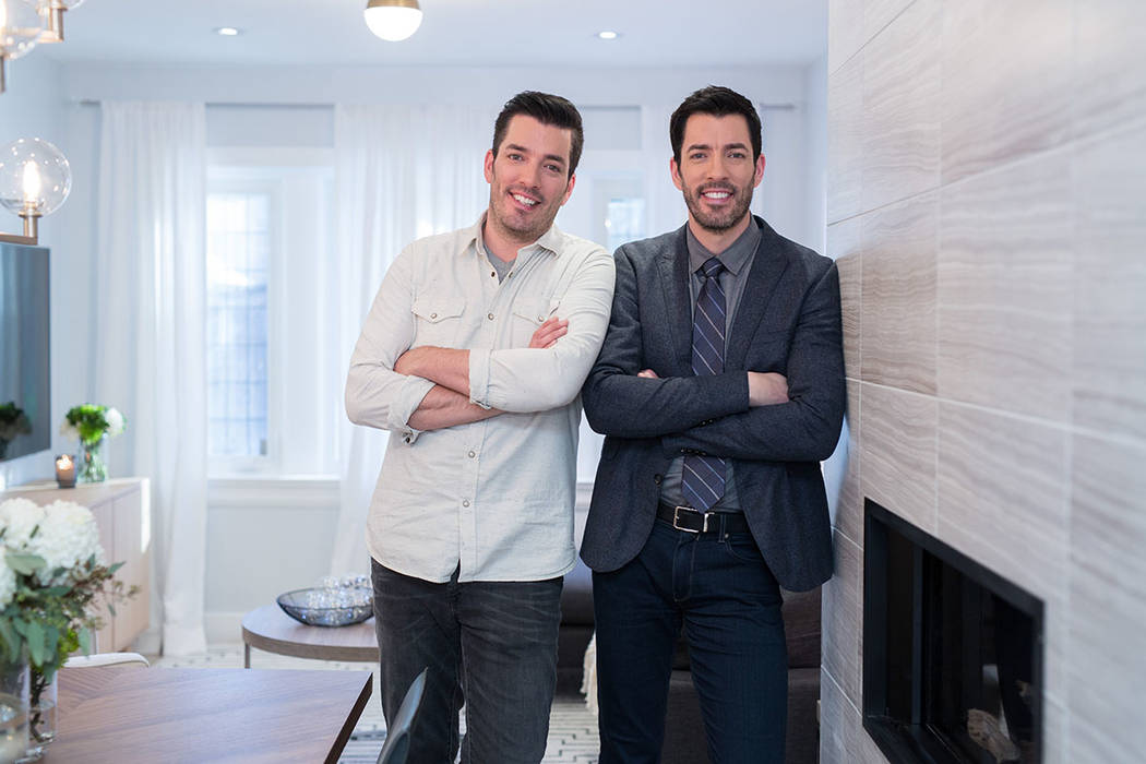 "Drew and Jonathan Scott of HGTV' ""The Property Brothers"" will start filming its new season in Las Vegas in January. (Darren Goldstein DSG Photo)"
