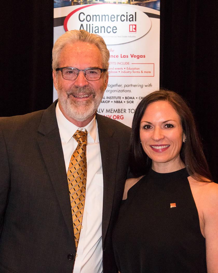 2017 CALV President Jennifer Ott and nationally known instructor Dr. Mark G. Dotzour. (CALV)