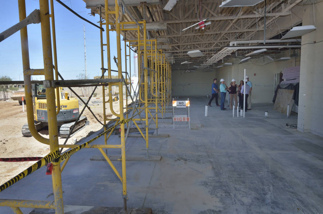 Part of the expansion to the Mountain's Edge Hospital Orthopedic Surgery Center. (Bill Hughes Las Vegas Business Press)