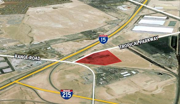 A sale to PACCAR Inc. The 18.24-acre land parcel is at APN# 123-29-601-004, 007, 010, 013 & 025 in North Las Vegas. The transaction value was $4,490,000. (Courtesy)