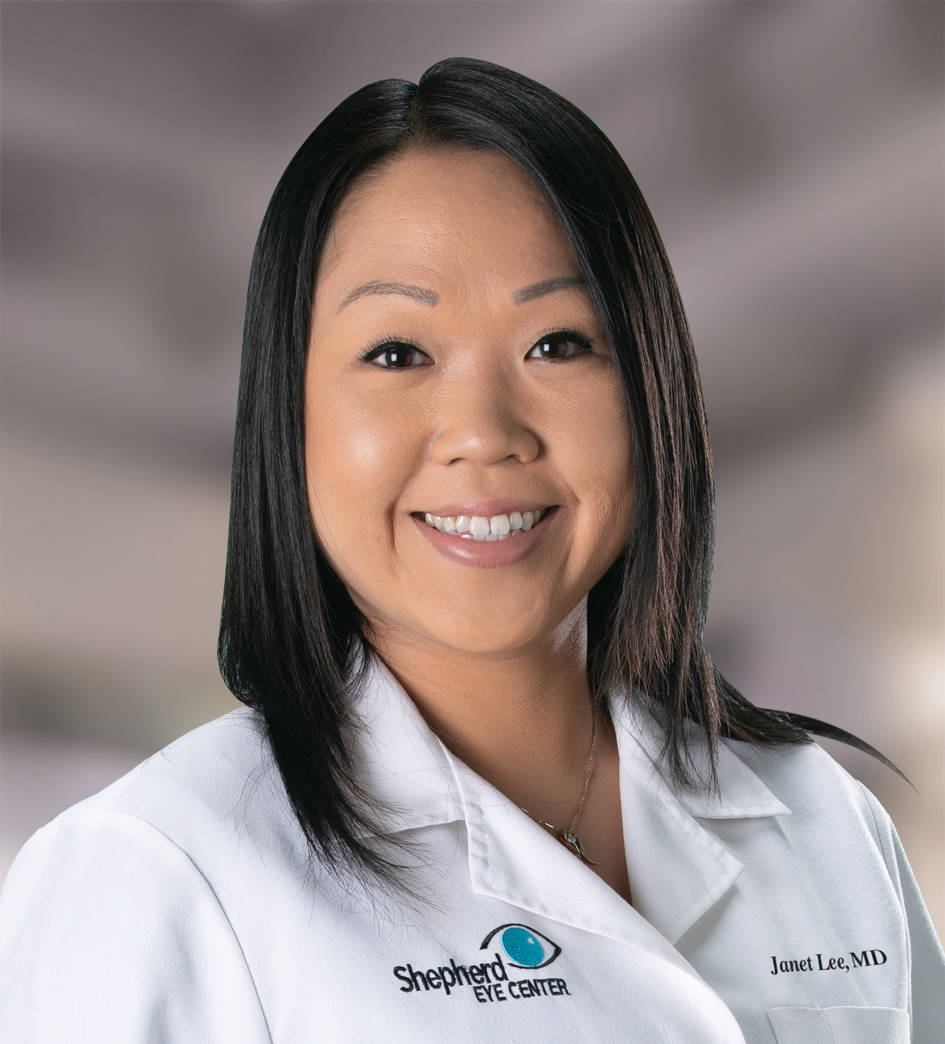 Shepherd Eye Center has announced the addition of Dr. Janet Lee to the practice.