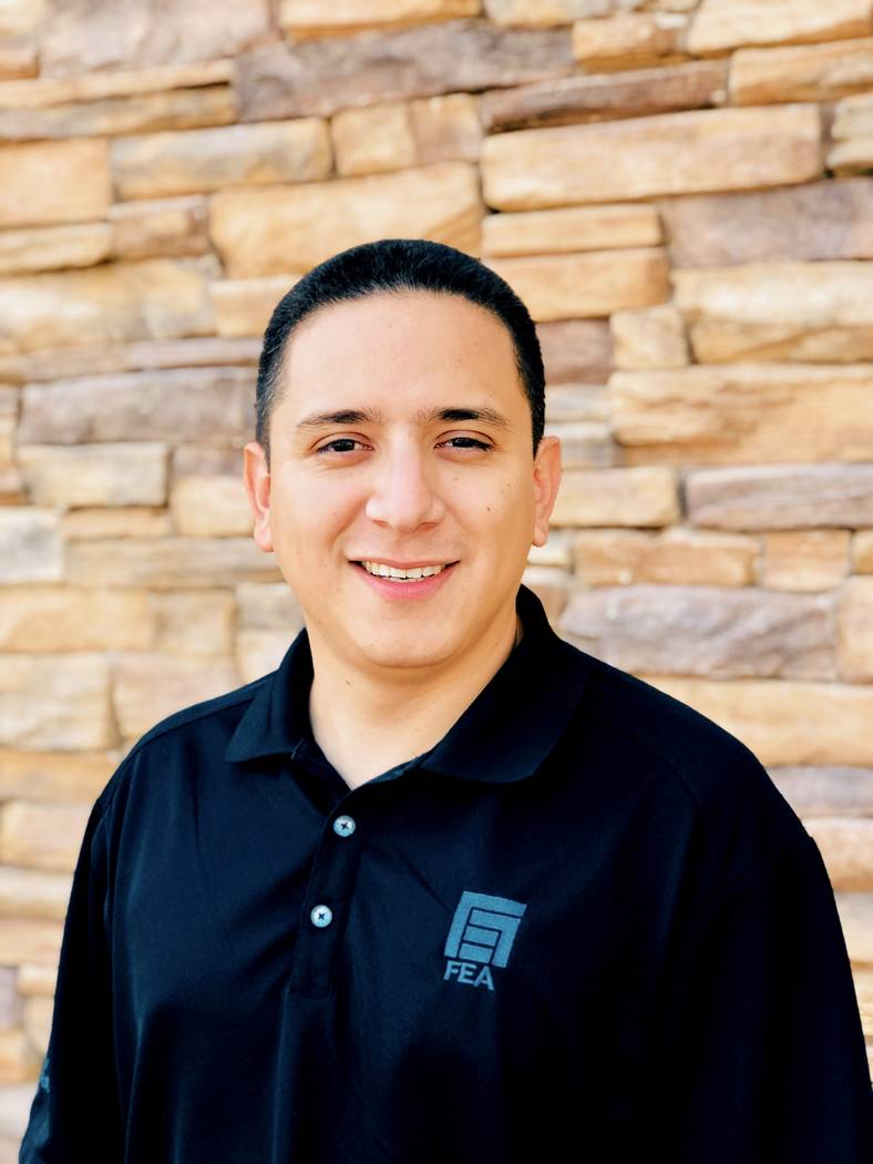 FEA Consulting Engineers has hired Levi Pleitez as electrical designer.