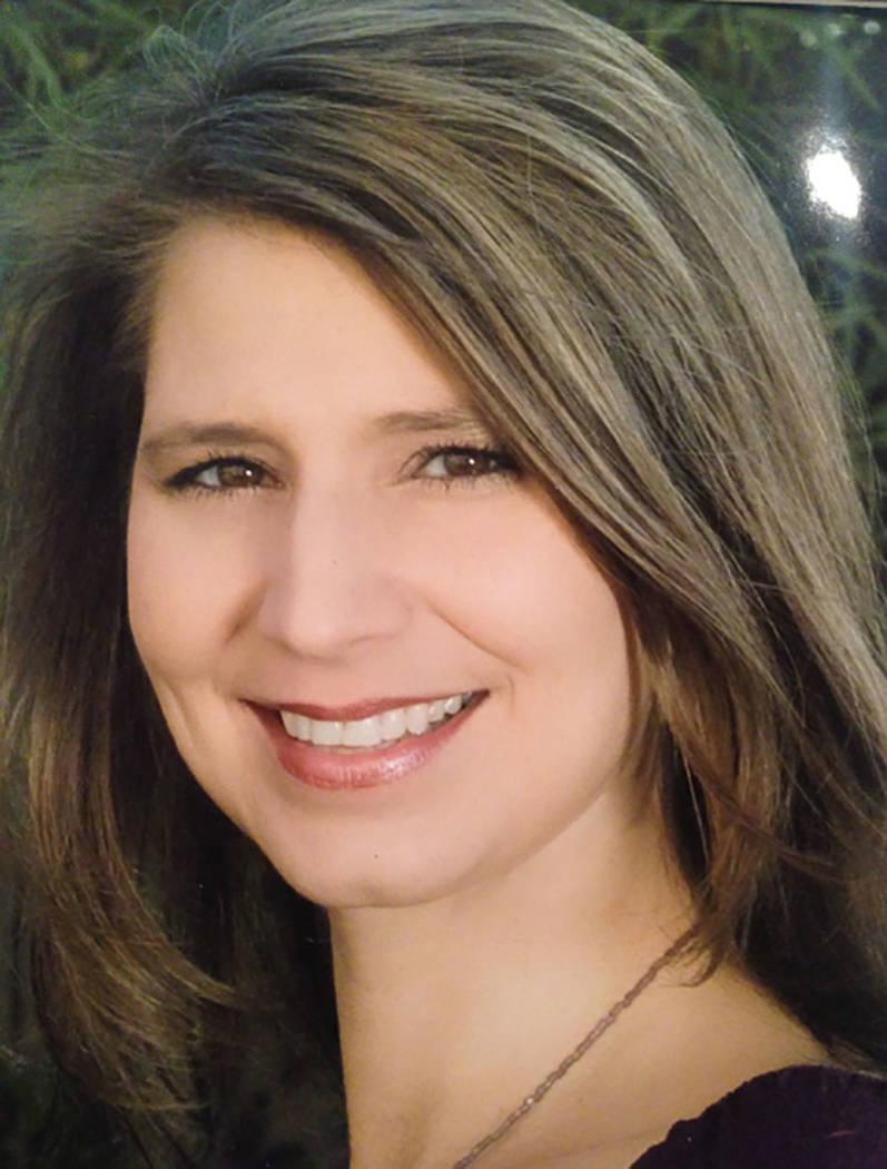 Erika Geiser, vice president of sales and marketing for Christopher Homes. (Tonya Harvey Las Vegas Business Press)