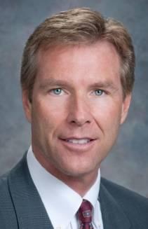Michael Cunningham, regional president for Bank of Nevada
