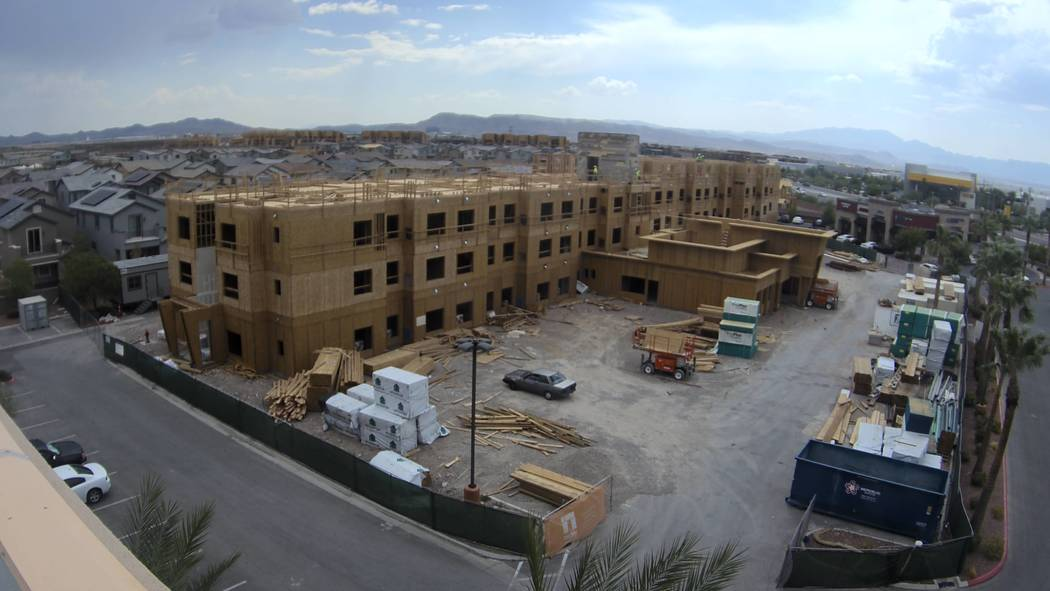 TMC Financing has announced that its client, Nigro Development, has begun construction on a new Residence Inn by Marriot in Henderson. (Courtesy)