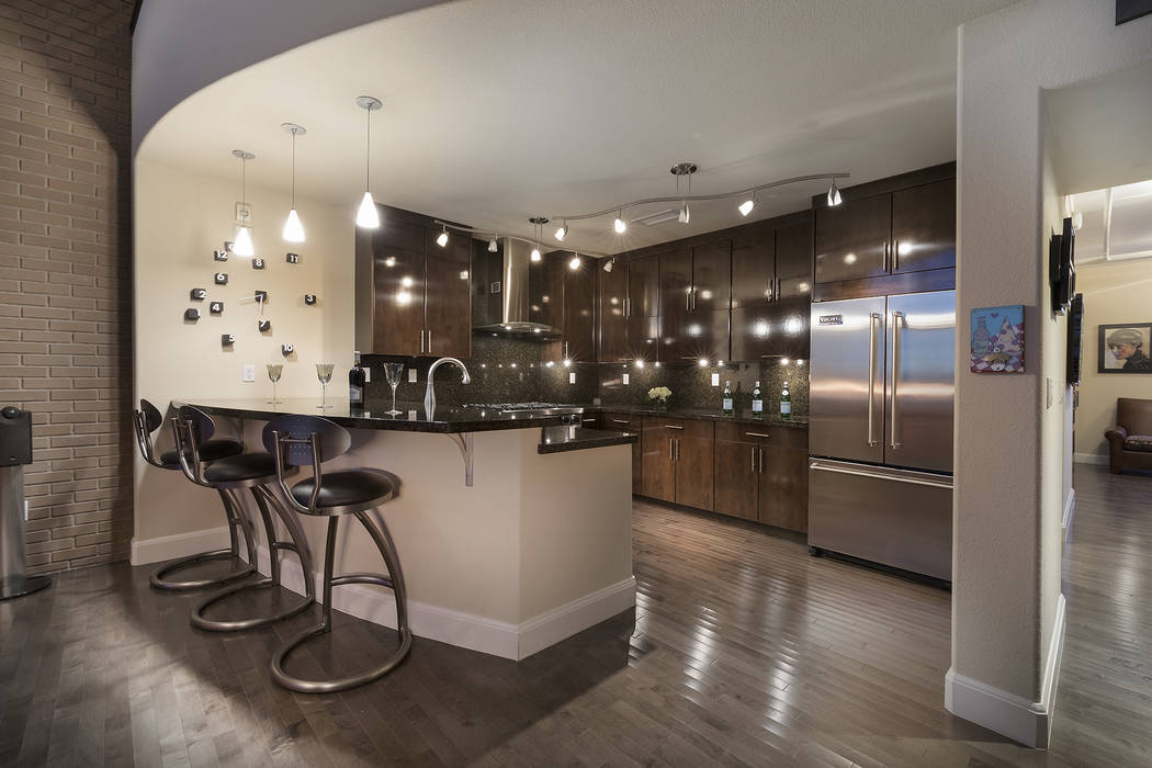 This two-bedroom, two-bath C2 Lofts measures 2,256 square feet. (Christopher Homes)