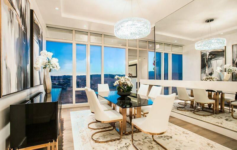 The $3.65M Waldorf Astoria penthouse has views of the Las Vegas Strip. (Waldorf Astoria)