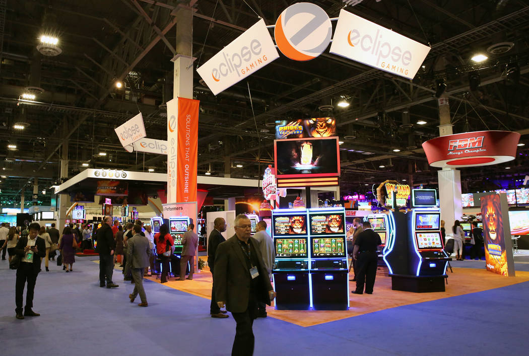 This year's Global Gaming Expo at the Sands Expo and Convention Center will focus on the expanded sports betting in the U.S. (Bizuayehu Tesfaye Las Vegas Business Press)