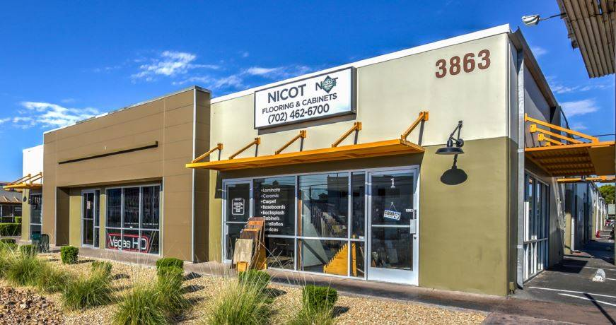 A lease at 3863 S. Valley View Blvd, Units 11/42, for 1,610 square feet. The total consideration was $16,812. (Courtesy)