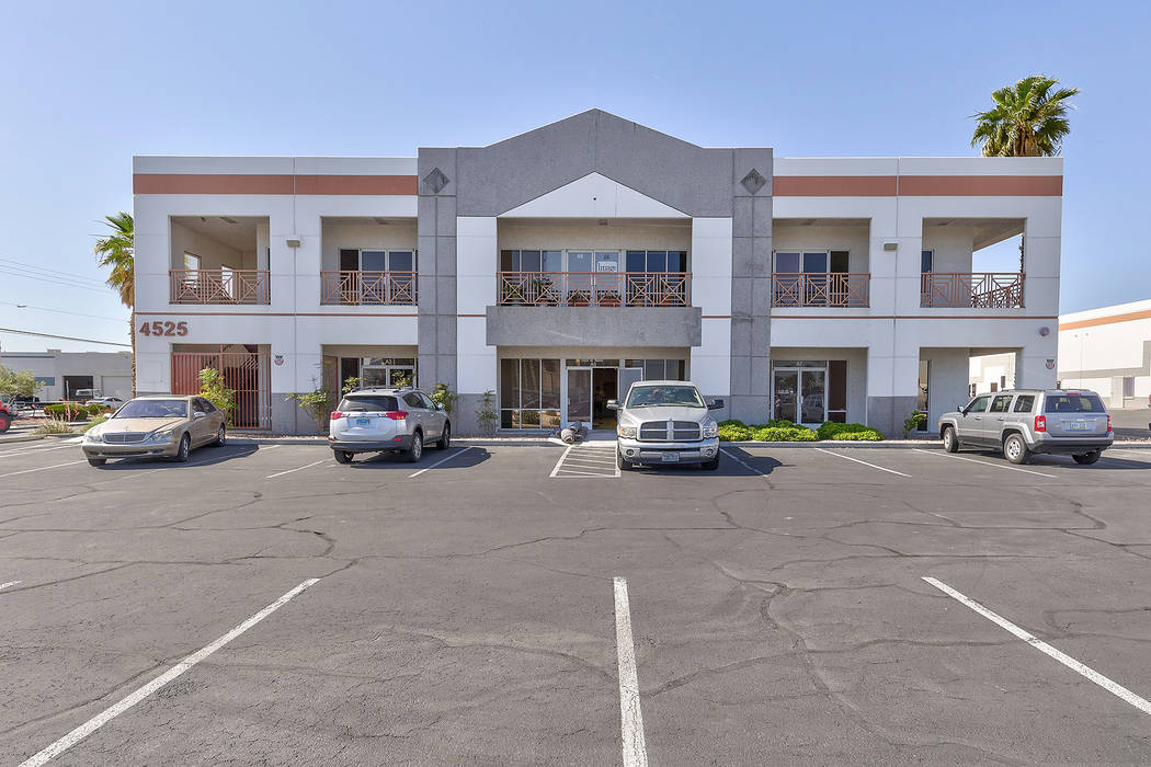 A lease at 4525 W. Reno Ave, Suite A-8, for 920 square. Total consideration was $11,592. (Courtesy)