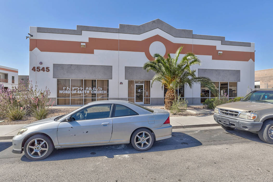 A lease at 4545 W. Reno Ave, Suite B-5, for 2,560 square feet. Total consideration was $99,256.32. (Courtesy)