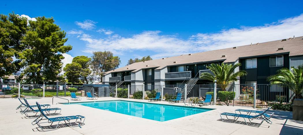 Cornerstone Crossing Apartments, a 540-unit multifamily project in northwest Las Vegas, was sold for $49.75 million. (Courtesy)