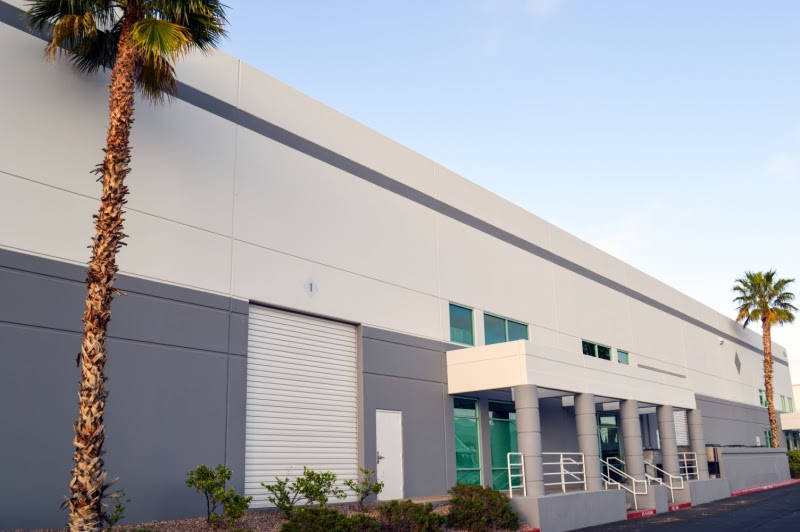 A 156,564-square foot, multitenant industrial building in the Suncrest Commerce Center of Henderson has sold for $20,200,000. (Courtesy)