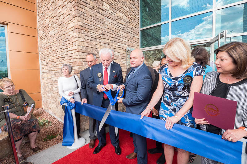 The Greater Las Vegas Association of Realtors held a grand opening for its new headquarters at 6360 S. Rainbow Blvd.