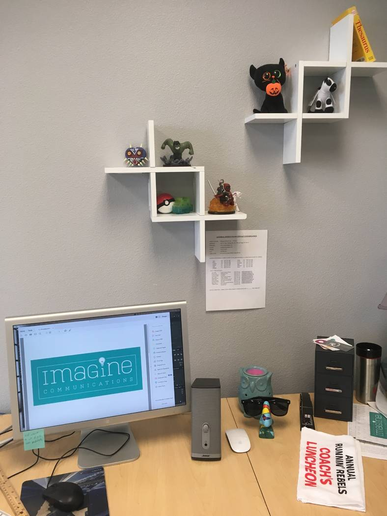 The folks at Imagine Communications have a little Halloween spark this year. (Imagine Communications)
