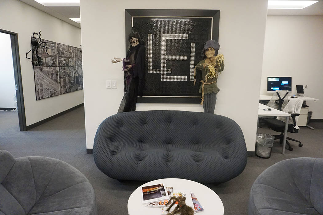 The real estate experts at Luxury Estates International are celebrating Halloween in style. (Luxury Estates International)
