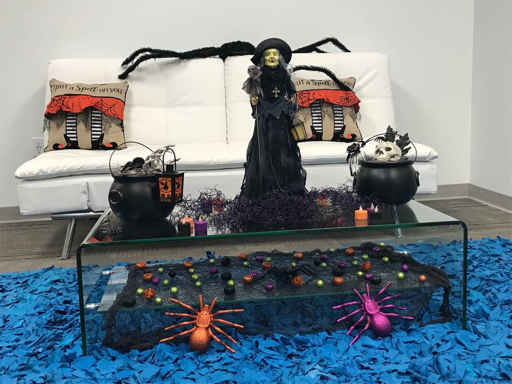 Alanna Fowler Deters decked out TRU Development for Halloween this year. (TRU Development)