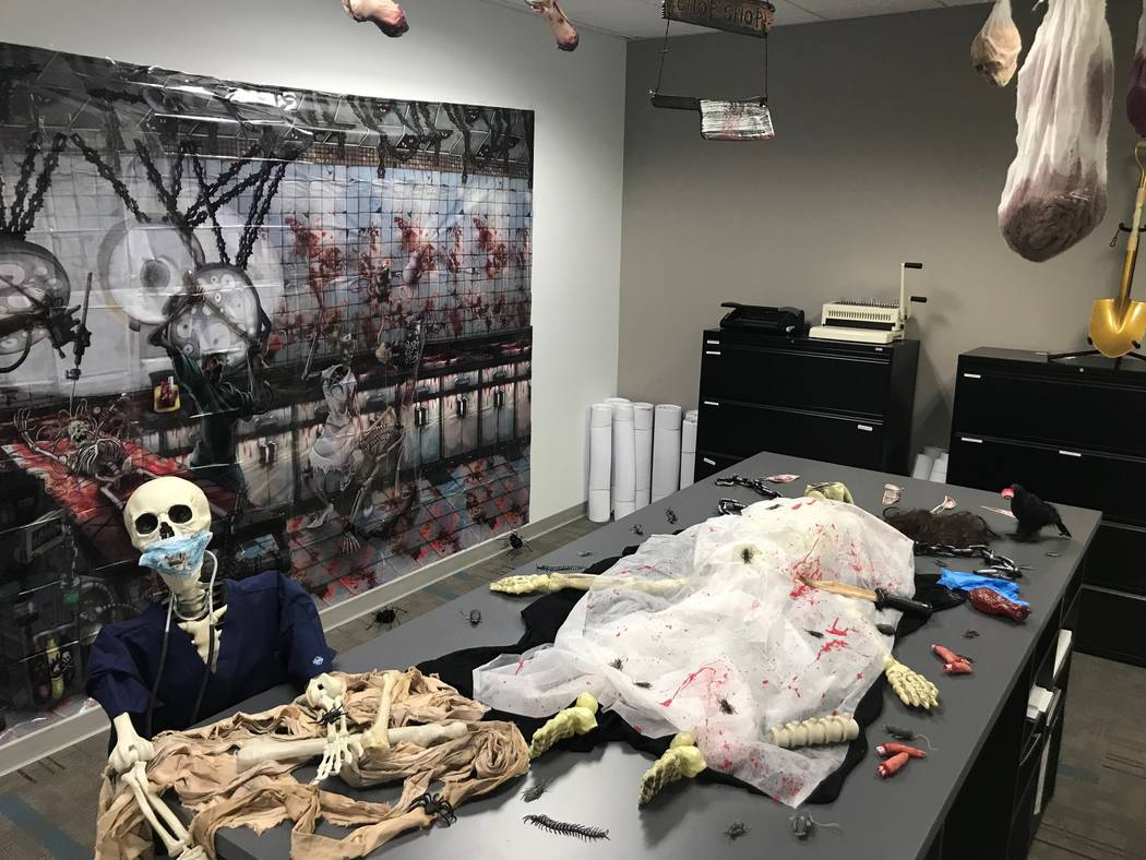 Kelly Kwasniewski of TRU Development sent photos of her office, which went all out for the holiday. (TRU Development)